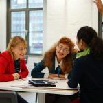 Matchmaking 2/3.1 | Lucyna Gancarczyk, NN, Joa Herrenknecht | © Saskia Nagel